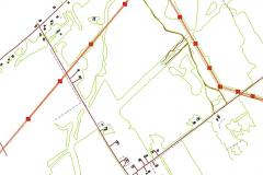 Corridor mapping from LiDAR