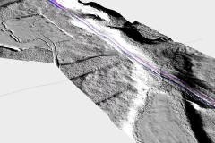 Micro-routing with LiDAR